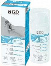 Parfumuri și produse cosmetice Soluție de protecție solară fără aromă - Eco Cosmetics Sun Lotion SPF 50