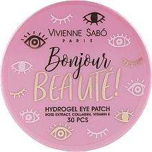Parfumuri și produse cosmetice Patch-uri de hidrogel sub ochi - Vivienne Sabo Bonjour, Beaute! Hydrogel