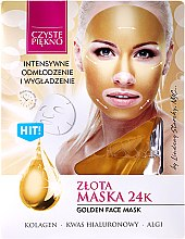 """Parfumuri și produse cosmetice Mască de față """"Golden"""" - Czyste Piekno Gold Face Mask"""