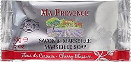 """Parfumuri și produse cosmetice Săpun solid Marsilia """"Flori de cireș"""" - Ma Provence Marseille Soap Cherry Blossom"""