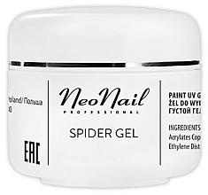 Parfumuri și produse cosmetice Gel efect pânză de păianjen pentru unghii - NeoNail Professional Spider Gel