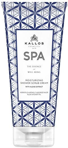 Scrub pentru duș - Kallos Cosmetics SPA Moisturizing Shower Scrub Cream With Algae Extract