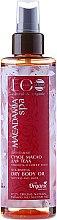 """Parfumuri și produse cosmetice Ulei uscat pentru corp """"Sensibilitatea și strălucirea pielii"""" - ECO Laboratorie Macadamia Spa Nourishing Dry Body Oil"""