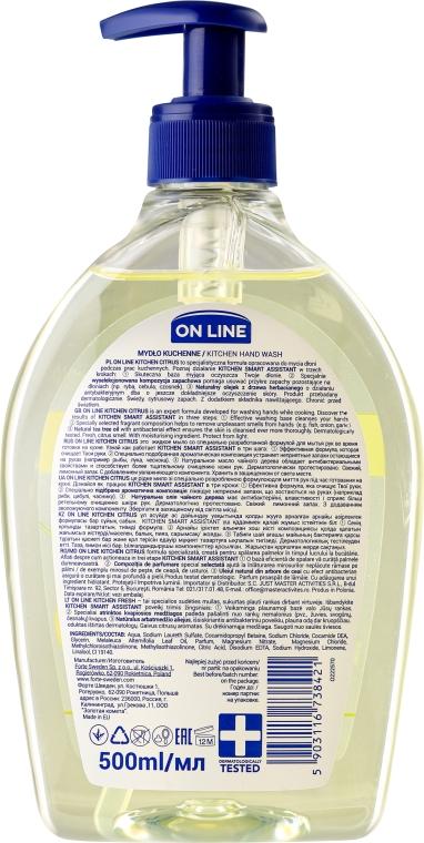 Săpun de bucătărie - On Line Kitchen Hand Wash Citrus Soap — Imagine N2