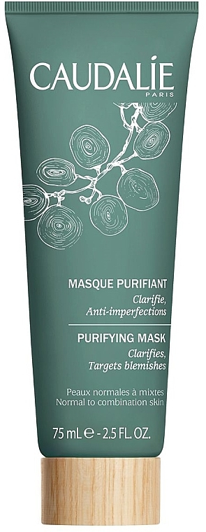 Mască pentru curățare - Caudalie Purifying Mask — Imagine N1