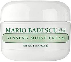 Parfumuri și produse cosmetice Cremă hidratantă de față - Mario Badescu Ginseng Moist Cream