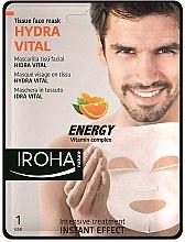 Parfumuri și produse cosmetice Mască de față - Iroha Nature Hydra Vital Energy Vitamin Complex Tissue Face Mask