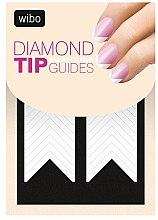 Parfumuri și produse cosmetice Șabloane pentru manichiura french - Wibo Diamond Manicure Tip Guides