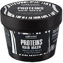 Parfumuri și produse cosmetice Mască de păr - Cafe Mimi Professional Proteins Hair Mask