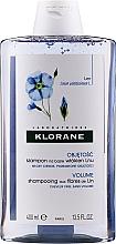 Parfumuri și produse cosmetice Șampon de păr - Klorane Shampoo With Flax Fiber