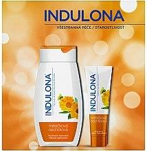 Parfumuri și produse cosmetice Set - Indulona Calendula (b/milk/250ml + h/cr/85ml)