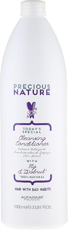 Balsam de curățare pentru păr - Alfaparf Precious Nature Cleansing Conditioner for Thirsty Hair — Imagine N3