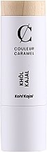 Parfumuri și produse cosmetice Eyeliner kajal - Couleur Caramel Bio Kohl Kajal (15 -Black)
