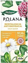 Parfumuri și produse cosmetice Ser cremă revitalizantă antioxidantă - Polana