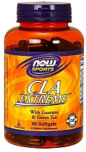 Parfumuri și produse cosmetice Acid linoleic conjugat - Now Foods CLA Extreme With Guarana & Green Tea