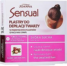 Parfumuri și produse cosmetice Benzi depilatoare pentru faţă cu ulei de argan - Joanna Sensual Depilatory Face Strips