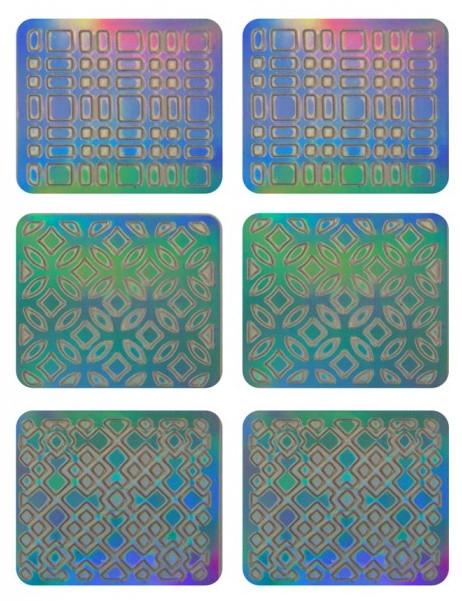 Abțibilduri pentru designul unghiilor, 3708 - Neess Patternness — Imagine N1