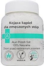 Parfumuri și produse cosmetice Sare de baie pentru picioare - Biomika