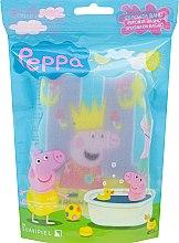 """Parfumuri și produse cosmetice Burete de baie pentru copii """"Peppa Pig"""", Peppa cu coroană - Suavipiel Peppa Pig Bath Sponge"""
