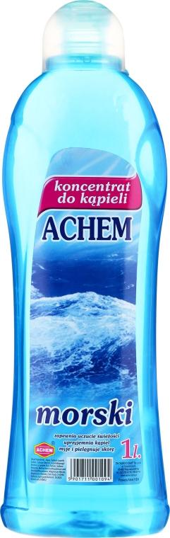 "Concentrat lichid pentru baie ""Apă de mare"" - Achem Concentrated Bubble Bath Sea"