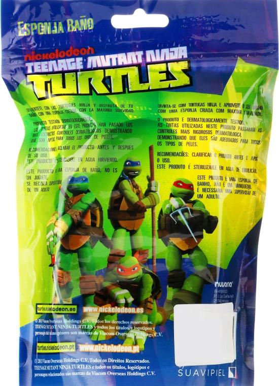 Burete de baie pentru copii Michelangelo 1 - Suavipiel Turtles Bath Sponge — Imagine N4