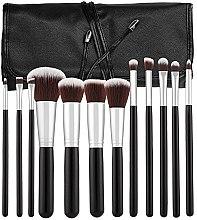 Parfumuri și produse cosmetice Set pensule pentru machiaj, 12 bucăți - Tools For Beauty