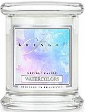 Parfumuri și produse cosmetice Lumânare aromată (pahar) - Kringle Candle Watercolors