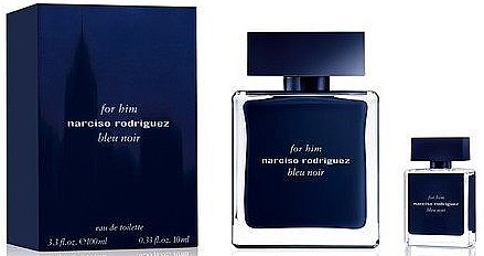 Narciso Rodriguez For Him Bleu Noir - Set (edt/100ml + edt/10ml) — Imagine N1