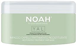 Parfumuri și produse cosmetice Mască-tratament reparator cu acid hialuronic pentru păr - Noah