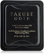 Parfumuri și produse cosmetice Rezervă pudră compactă - Guerlain Parure Gold Compact Powder Foundation Refill SPF15