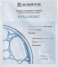 Parfumuri și produse cosmetice Mască hidratantă cu acid hialuronic - Academie Hydratant Intensif Masque