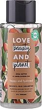 """Parfumuri și produse cosmetice Șampon """"Fericire și Hidratare"""" - Love Beauty&Planet Shea Butter & Sandalwood"""