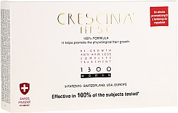 Parfumuri și produse cosmetice Remediu pentru creșterea părului pentru femei 1300 - Labo Crescina Re-Growth Anti-Hair Loss Complete Treatment 1300 Woman
