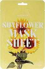 """Parfumuri și produse cosmetice Mască de față """"Floarea-soarelui"""" - Kocostar Slice Mask Sheet Sunflower"""