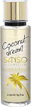 """Parfumuri și produse cosmetice Mist pentru corp """"Coconut Dream"""" - Sanso Cosmetics Coconut Dream Body Spray"""