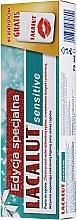Parfumuri și produse cosmetice Set - Lacalut Sensitive Special Edition Set (t/paste/75ml + dental/floss)
