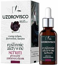 Parfumuri și produse cosmetice Ser activ hidratant antirid pentru față - Uzdrovisco Black Tulip