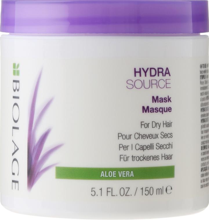 Mască pentru hidratarea părului uscat - Biolage Hydrasource Mask For Dry Hair — Imagine N1