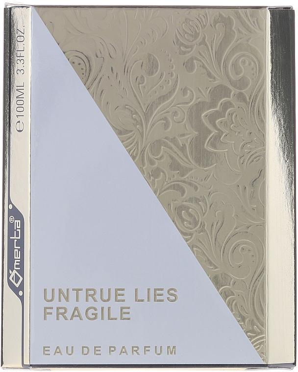 Omerta Untrue Lies Fragile - Apă de parfum