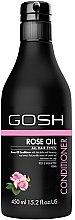 Balsam cu ulei de trandafir pentru păr - Gosh Rose Oil Conditioner — Imagine N2