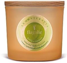 """Parfumuri și produse cosmetice Lumânăre aromată, în pahar """"Energie"""" - Flagolie Fragranced Candle Right Energy"""