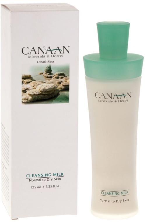 Lapte demachiant pentru ten normal și uscat - Canaan Minerals & Herbs Cleansing Milk Normal to Dry Skin — Imagine N1