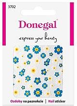 Parfumuri și produse cosmetice Nail stickers, 3702 - Donegal