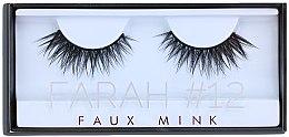 Parfumuri și produse cosmetice Gene false №12 - Huda Beauty Faux Mink Lash 12