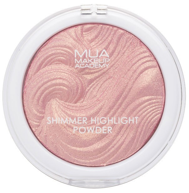 Pudră-iluminator pentru față - MUA Shimmer Hightlight Powder — Imagine N1
