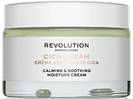Parfumuri și produse cosmetice Cremă hidratantă și calmantă de față - Revolution Skincare Cica Calming & Soothing Moisture Cream