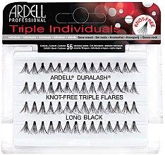 Parfumuri și produse cosmetice Set de gene individuale - Ardell Triple Individual Long Black