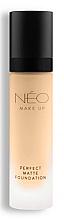 Parfumuri și produse cosmetice Fond matifiant de ten - NEO Make Up Perfect Matte Foundation