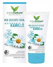 Parfumuri și produse cosmetice Cremă de față - Cosnature MED Face Cream Brine & Chamomille