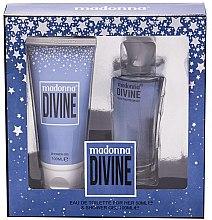 Parfumuri și produse cosmetice Madonna Divine - Set (edt/50ml+sh/gel/100ml)
